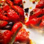 Tomaten und Oliven Tarte-Tartin