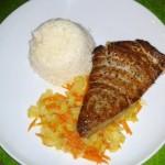 Thunfischsteak mit Chinakohlgemüse