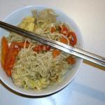 asiatische Nudelpfanne