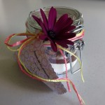 Mikrowellen-Brownies als Geschenk