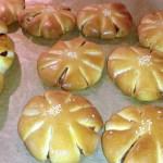koreanisches süßes Brot mit roter Bohnenpaste