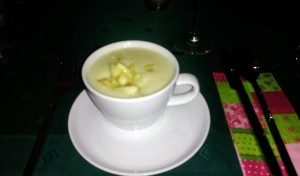 Pastianaken-Cremesuppe